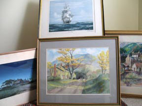 Group of Watercolor Paintings